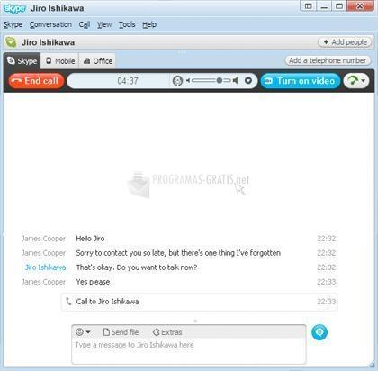 Fotografía Skype