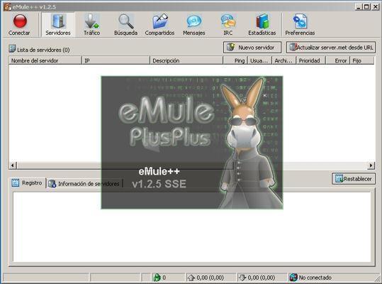 Pantallazo eMule Plus Plus
