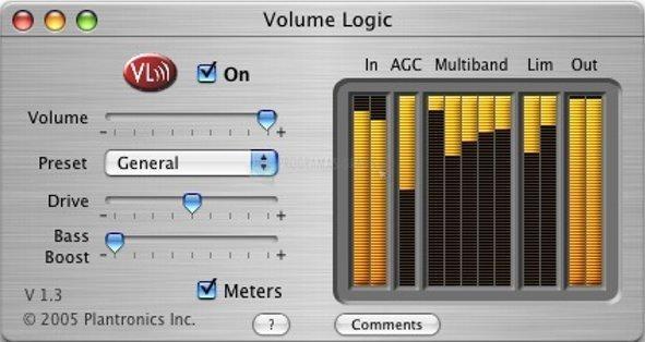 Pantallazo Volume Logic