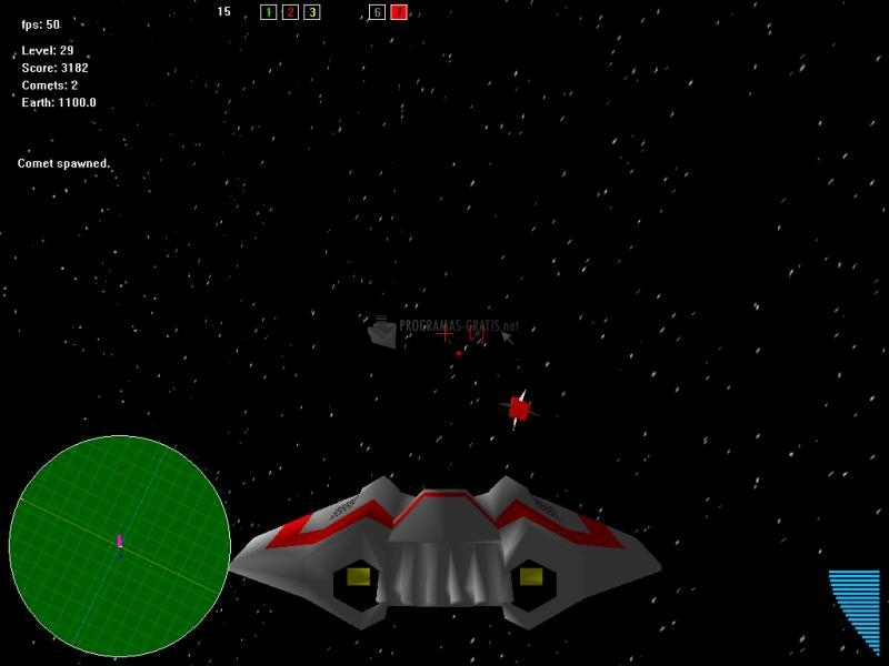 Pantallazo Space Shooter