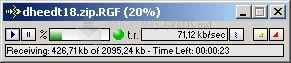 Pantallazo Rapid File Get