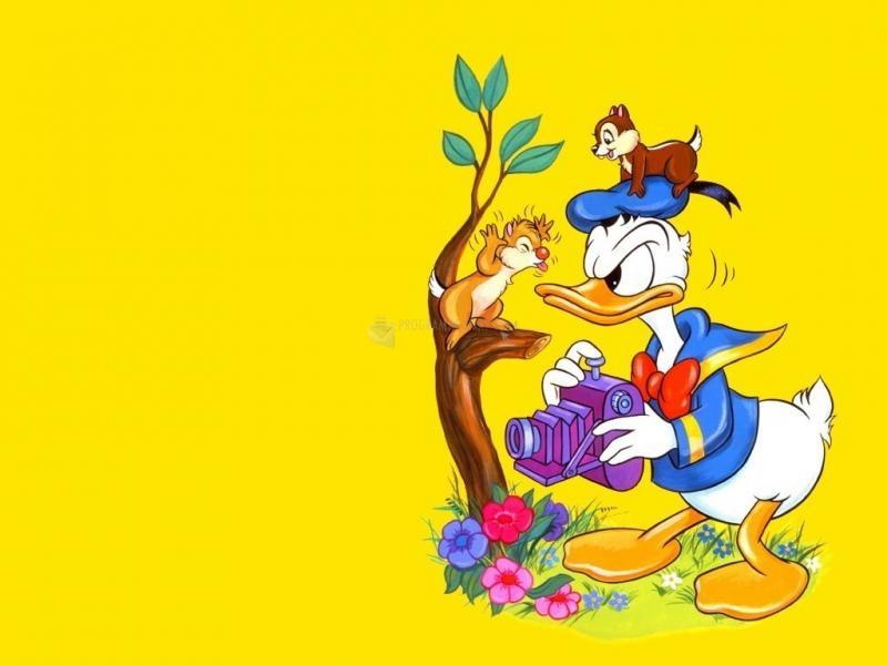 Pantallazo El Pato Donald y Chip y Chop