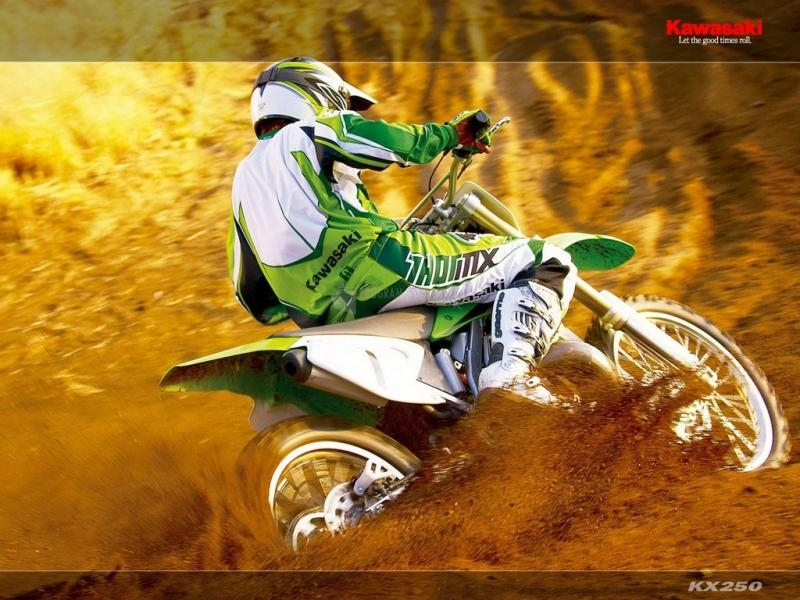 Pantallazo Fondo Kawasaki KX 250