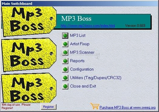 Pantallazo MP3 Boss