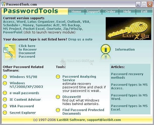Pantallazo Windows Password