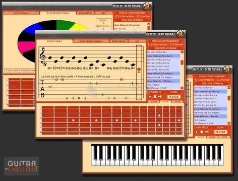 Pantallazo Dictado y Memoria Musical