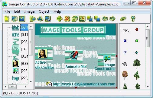 Pantallazo Image Constructor