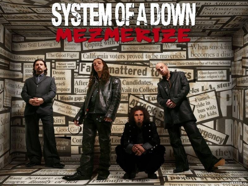 Pantallazo System of a Down: Mezmerize