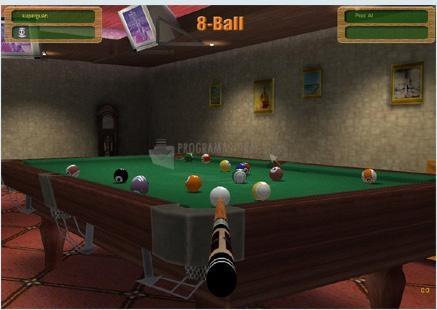 Pantallazo 3D Online Pool