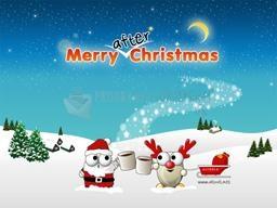 Pantallazo ALTools Merry After Christmas Wallpaper