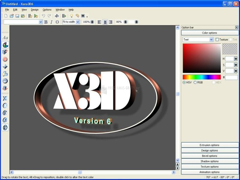 Descargar xara 3d 7 0 gratis para windows for Programa para disenar ambientes 3d gratis