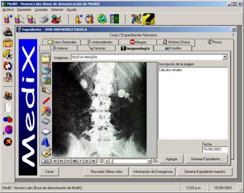 Pantallazo Medix