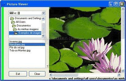Pantallazo Webxpace Pic Viewer