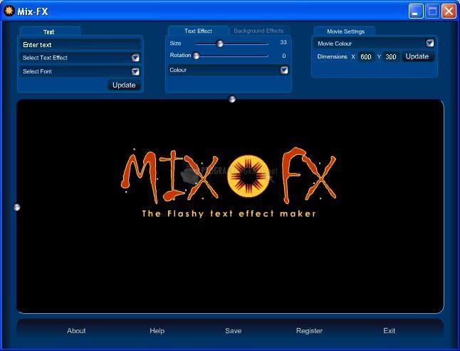 Pantallazo Mix-FX