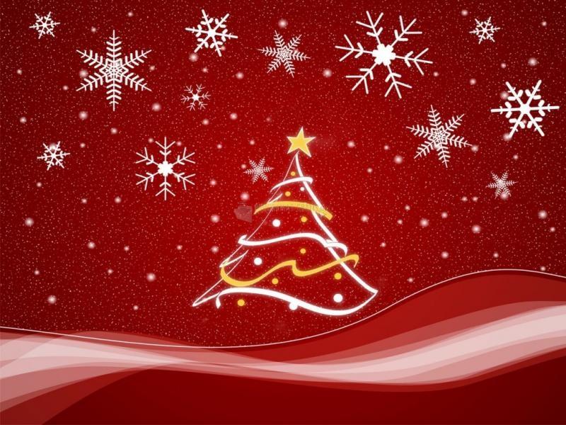 Pantallazo Minimalista Fondo de Navidad