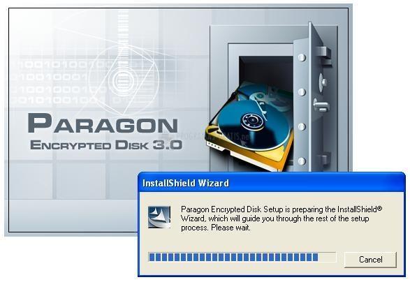 Pantallazo Encrypted Disk