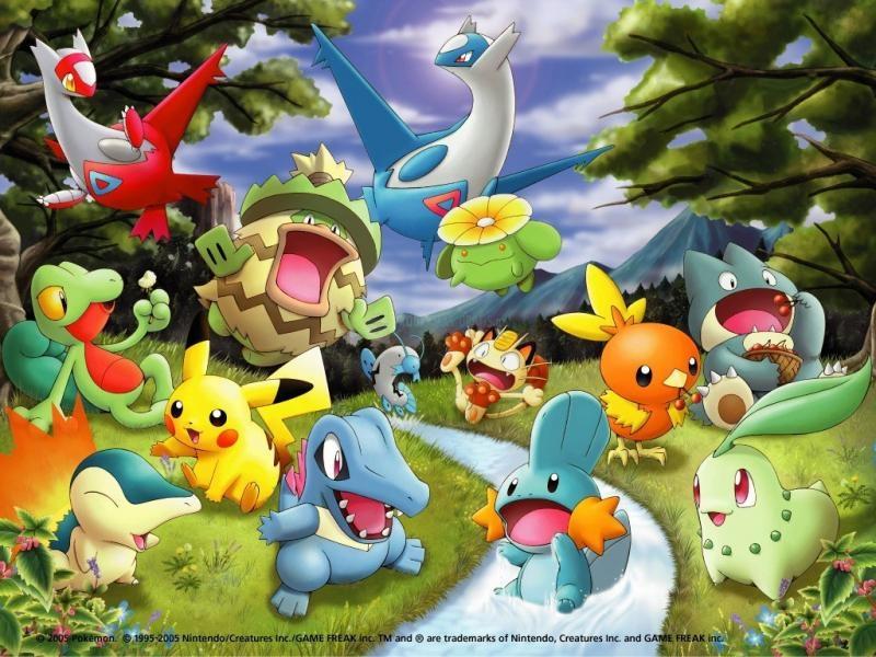 Pantallazo Bosque Pokemon