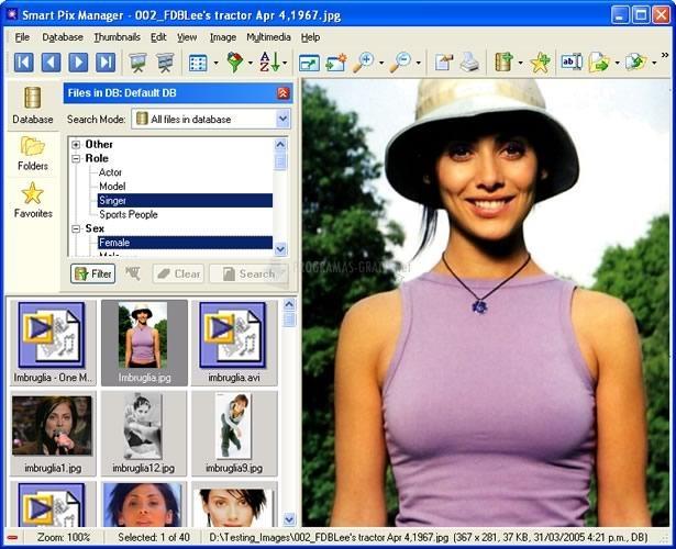 Pantallazo Smart Pix Manager