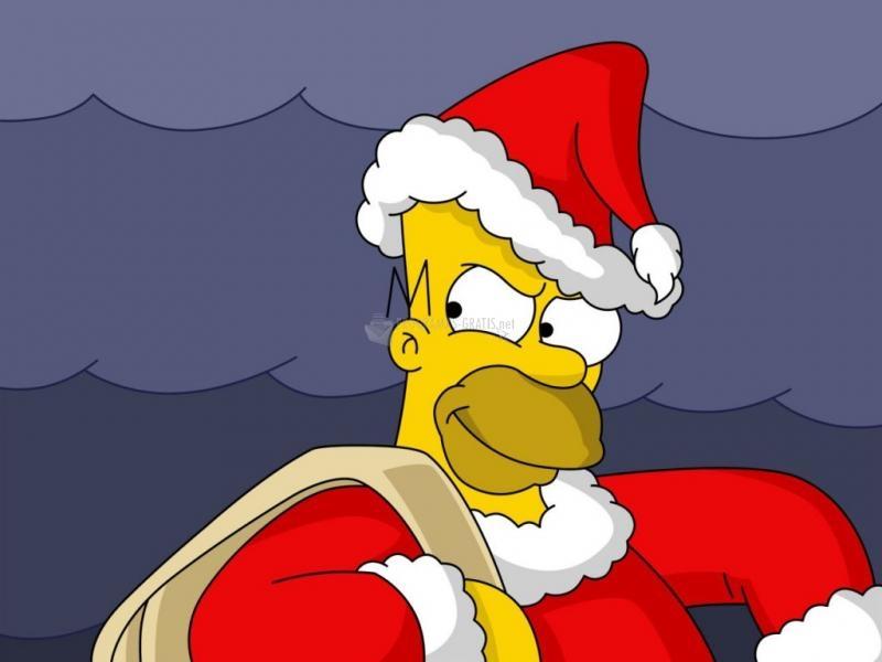 Pantallazo Homer Santa Claus