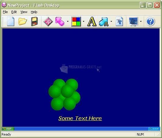 Pantallazo Flash Desktop