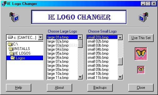 Pantallazo IE Logos