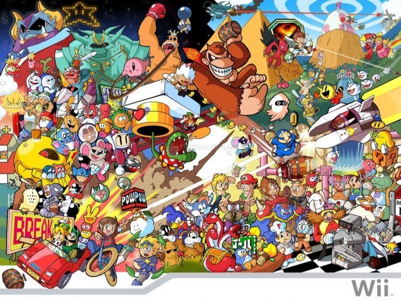 Pantallazo Personajes Nintendo Wii