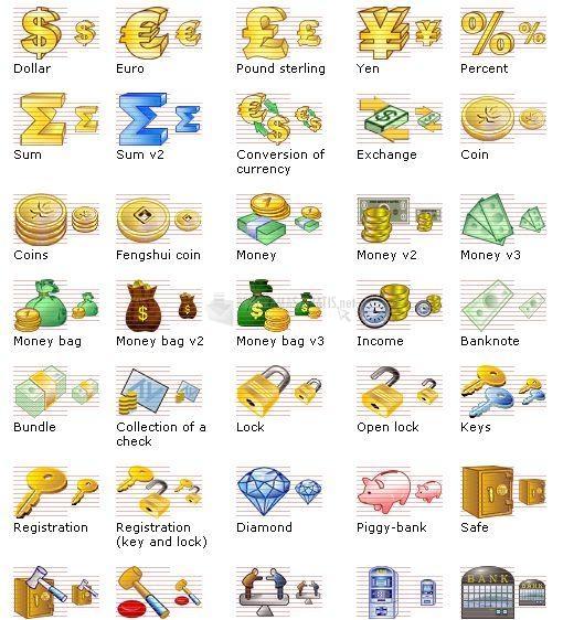 Pantallazo Business Icon Set