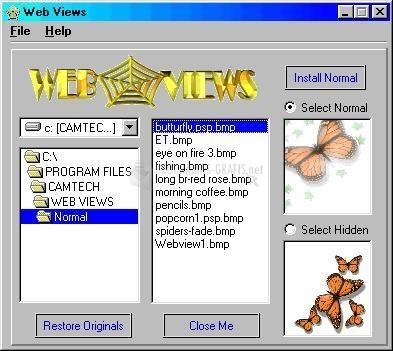 Pantallazo Web Views