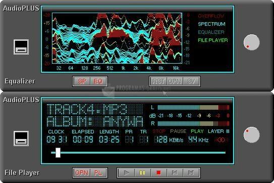 Pantallazo AudioPLUS