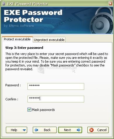 Foto EXE Password Protector