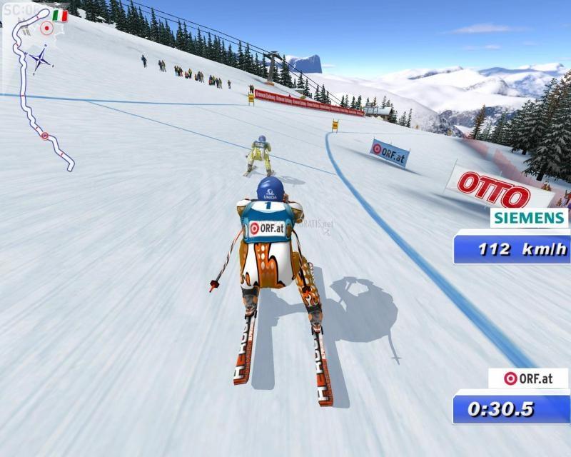 Pantallazo ORF- Ski Challenge