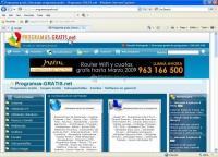 Pantallazo Internet Explorer