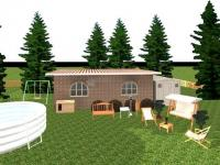 Pantallazo Diseño Jardines y Exteriores 3D