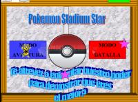 Pantalla Pokemon Stadium Star