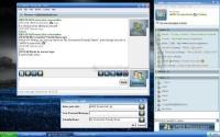 Screenshot aMSN Messenger
