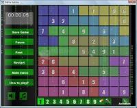 Pantallazo Matrix Sudoku