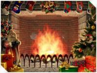 Pantallazo Living 3D Fireplace Christmas Screensaver