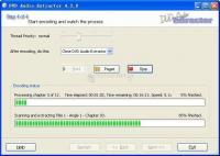 Screenshot DVD Audio Extractor