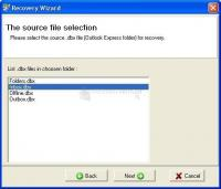 Pantalla Recovery Toolbox for Outlook Express