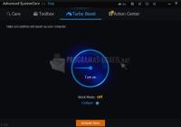Captura de pantalla Advanced SystemCare