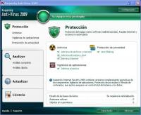 Pantallazo Kaspersky Anti-Virus