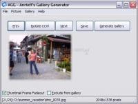 Pantallazo Anrieff´s Gallery Generator
