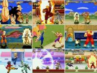 Screenshot DragonBall vs Street Fighter