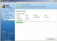 Captura AVG Anti-Virus Free Edition