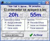Pantallazo PC-Off