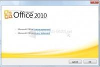 Pantallazo Microsoft Office 2010