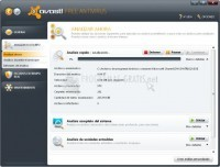Screenshot Avast! Free