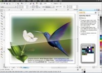 Pantallazo Corel Draw Graphics Suite