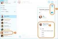 Screenshot Skype Translator