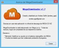Screenshot MegaDownloader